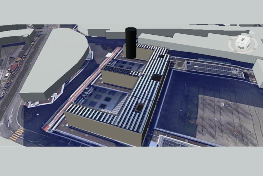 3D Visualisierung und detaillierte Dachplanung - Polysun SPT