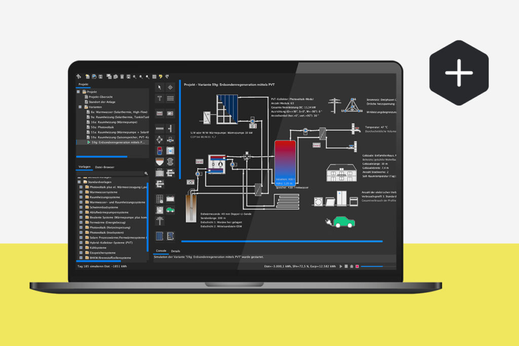 Simulationssoftware for energy systems in BIM projects